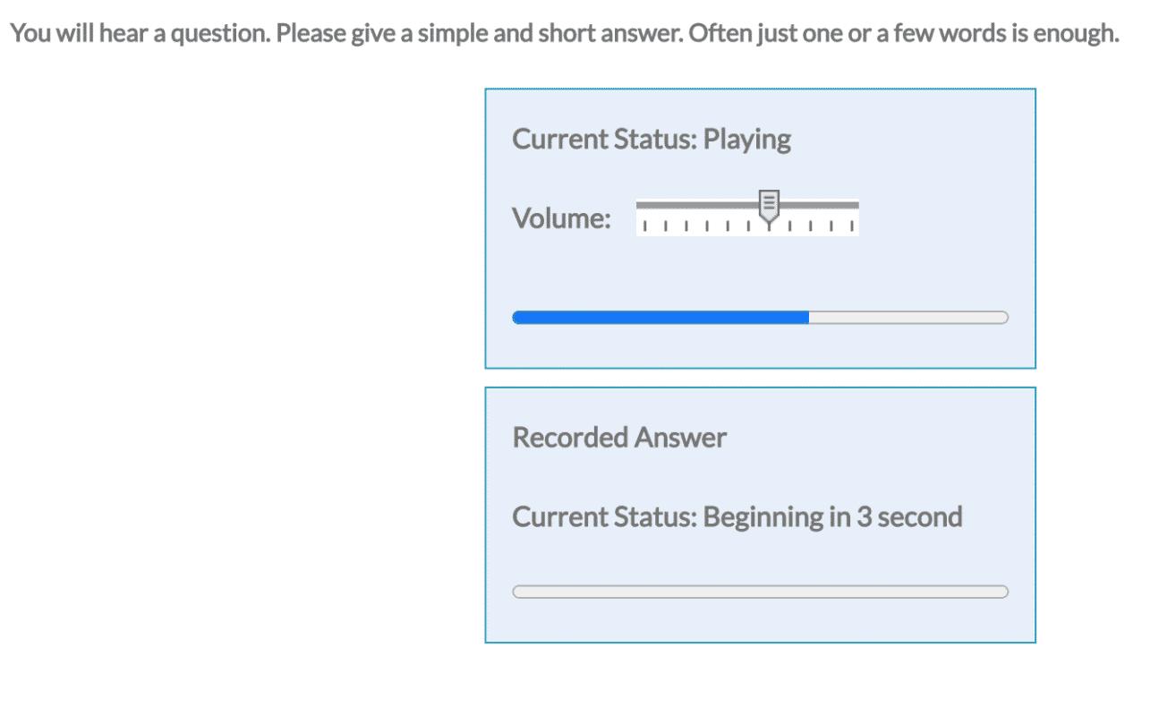 PTE Answer short question